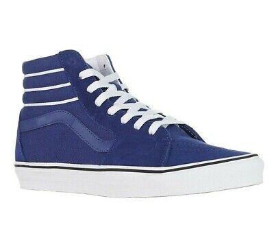 Vans Sk8-HI SKATE Shoes Men's Size 11 Sport Stripes True Navy