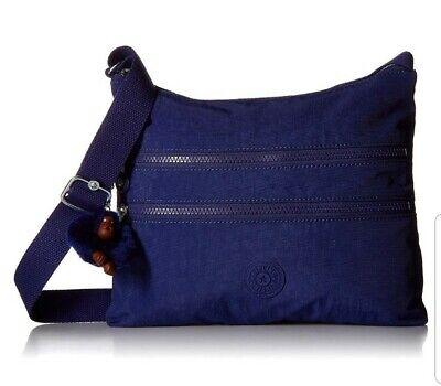 NEW Kipling Alvar across body bag Cobalt Dream Tonal Rrp £69