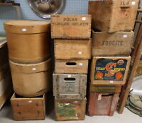 Vintage Wood/Cheese Boxes - Blue Jar Antique Mall