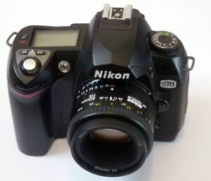 ***NIKON F70 SLR, 35 MM FILM CAMERA, EXCELLENT CONDITION***