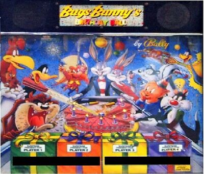 Bugs Bunny Complete LED Lighting Kit custom SUPER BRIGHT PINBALL LED KIT