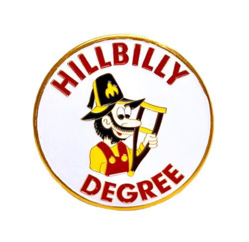 Shriners Hillbilly Degree car emblem 2 3/4 inch peel & stick # CHIL