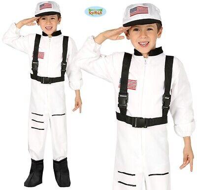 Kinder Astronaut Kostüm Jungen Spaceman Outfit Neu Fg
