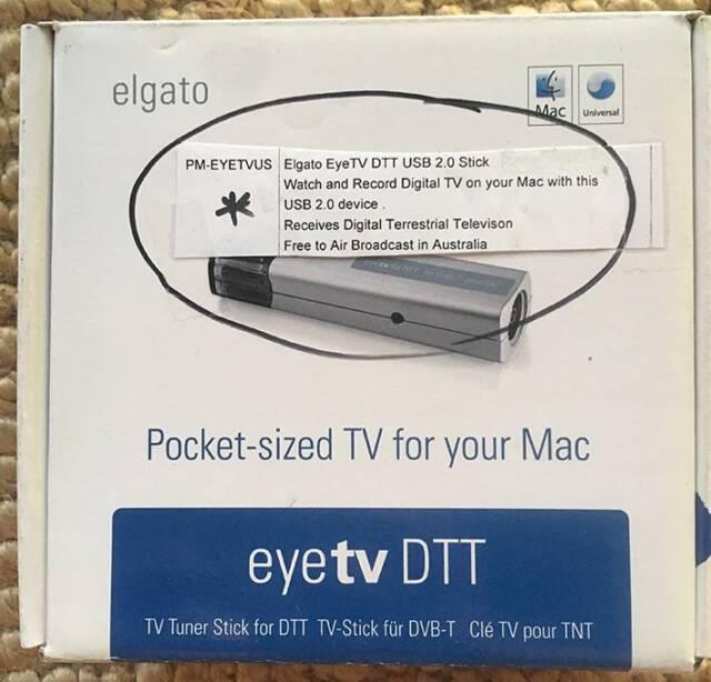 Elgato EyeTV DTT TV Tuner Stick for Mac   Computer