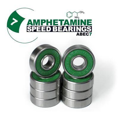 AMPHETAMINE ABEC7 Speed Bearings Kugellager für Skateboard/Longboard /