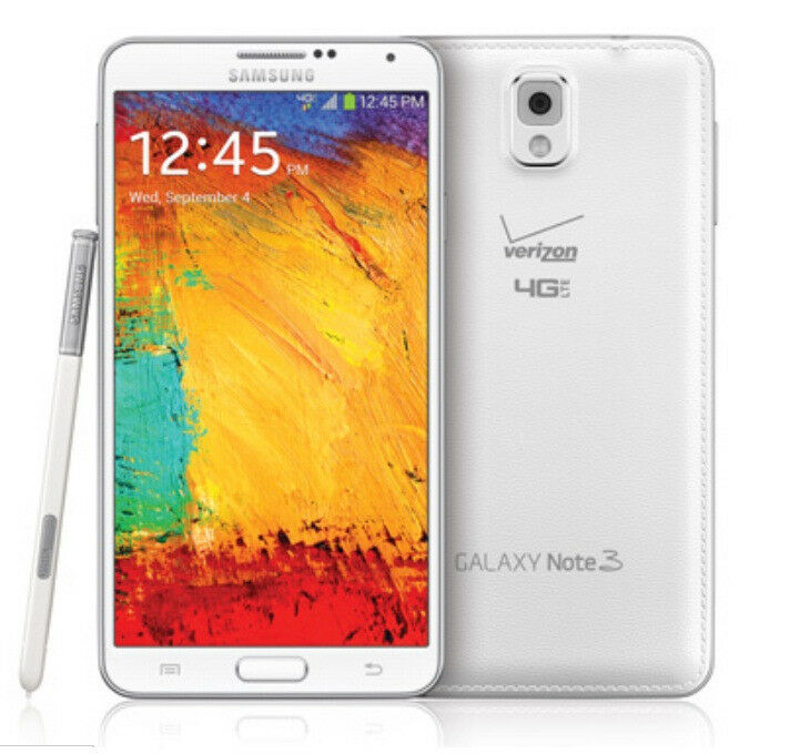 Samsung Galaxy Note 3 III N900V Verizon (GSM Factory Unlocked) Black / White New