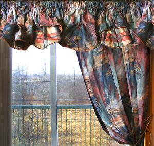 Draperies (2 fenêtres et porte patio)