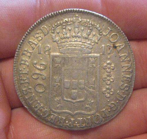 Brazil - 1817 Large Silver 960 Reis