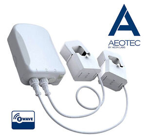 Aeon Labs Aeotec Z-Wave Smart Energy Monitor Meter - Brand New
