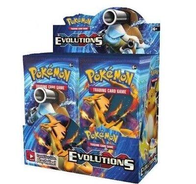 1 POKEMON EVOLUTIONS BOOSTER PACK! 1x