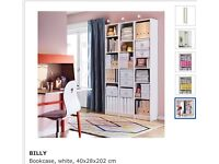 3 Ikea billy book cases