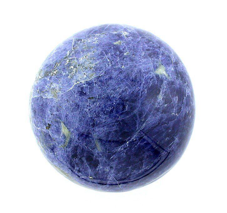 53mm 2 1/10 Inch Rich Sodalite Sphere Crystal Ball Natural Gemstone Gem s61
