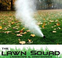 Sprinkler & Irrigation System Blow Outs - Winterization