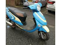 Strada scooter 50cc great first bike £450