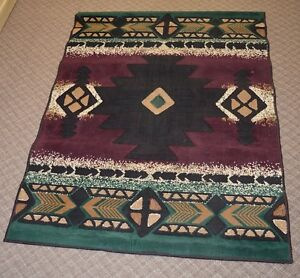 Southwest Pattern Area Rug