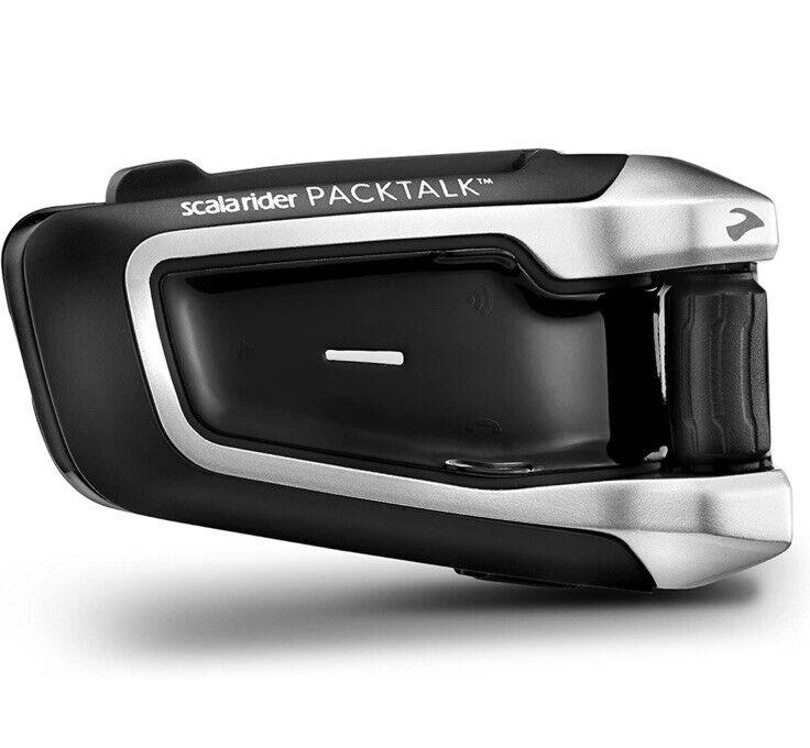 Cardo PACKTALK Bluetooth 4.1/DMC Mesh-Technology Motorcycle Communication