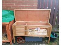 Ferret rabbit hutch