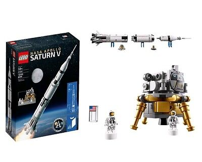 Lego Ideas Nasa Apollo Saturn V 21309 Mint Brand New Factory Sealed 1969 Pieces