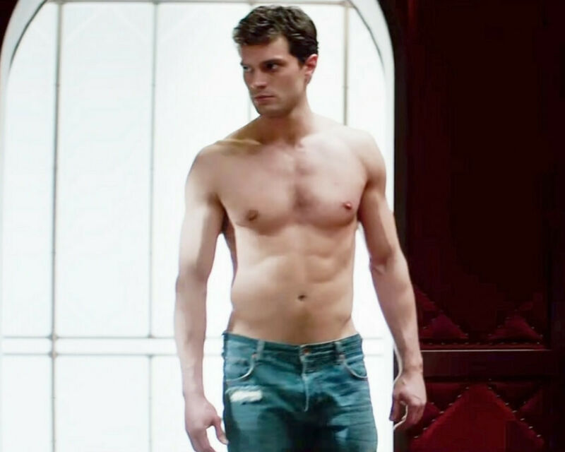 Fifty Shades Darker Jamie Dornan barechested hunky shirtless 8x10 Photo
