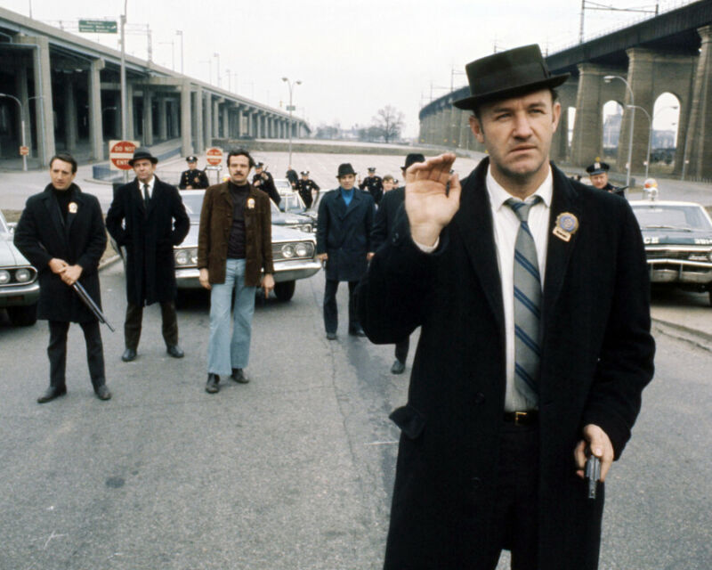 The French Connection 8x10 Photo Gene Hackman Iconic Image