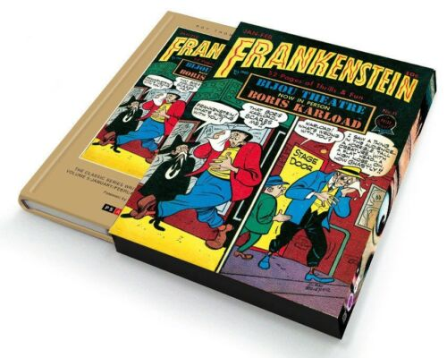 Frankenstein Vol 5 Golden Age Prize Comics HC Slipcase PS ArtBooks 2014