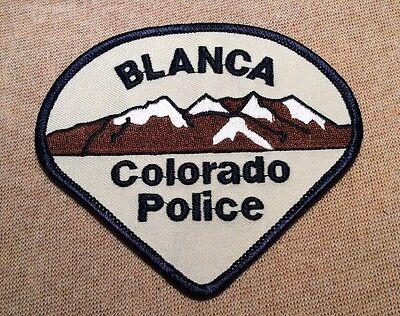 CO Blanca Colorado Police Patch