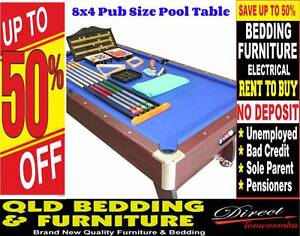 FREE DELIVERY 8x4 Pub Size Pool Table 'w' $600 worth of FREE ACC* East Toowoomba Toowoomba City Preview
