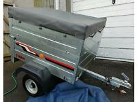 Trailer single or double height, see pictures