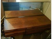 Dresser draw, double bed and two wardrobes. Free!
