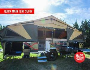 Mars Campers Space X Dual Fold Camper Trailer Springvale Greater Dandenong Preview