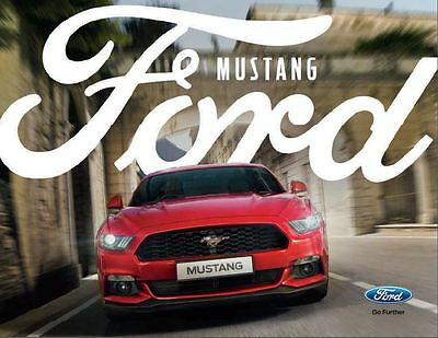 New Ford Mustang brochure - FREE POST!