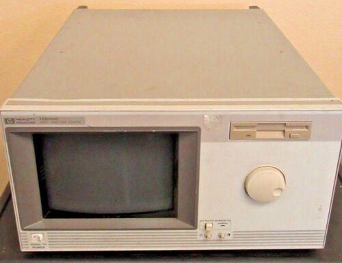HP 16500C LOGIC ANALYSIS SYSTEM W/ (2) 16556A, (1) 16501A