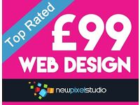 Website Design for as little as £99 | Designer | Cheap Graphic | Web | Videos | Freelance
