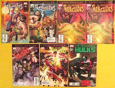 The Incredible Hulk Hercules Marvel Comics 116 117 118 (2) 119 120 628 Greg Pak