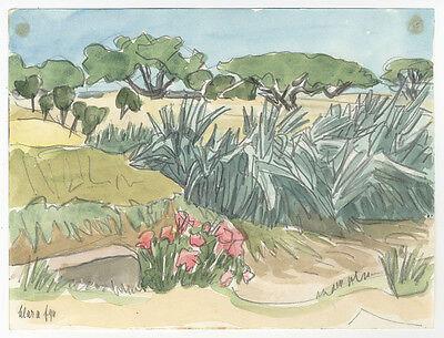 Clara Ege (*1897) : Kreta / Ierapetra. - Aquarell