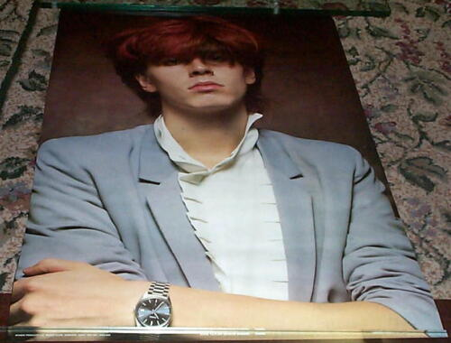 JOHN TAYLOR Duran Duran 1983 VINTAGE Poster in NEW CONDITION