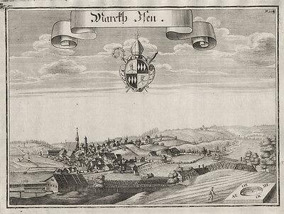 Isen/bei Wasserburg/Inn : Kupferstich, Wening, ca. 1750