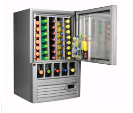 Glass front covid-19 safe COOLER
