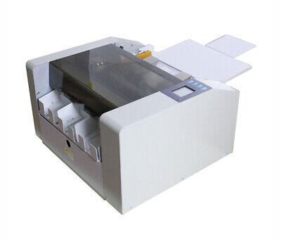 90mm Auto A3 Card Cutter Name Card Slitter Business Card Cutting Machine 220v
