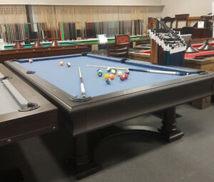 Contemporary 9' Pool table by Brunswick