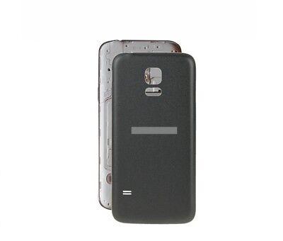 TAPA TRASERA CUBRE BATERIA PARA SAMSUNG GALAXY S5 mini G800F color negro