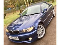 BMW 325Ci**M Sport Convertible**WOW Just 47,009 Miles With 7 Stamps,Pristine...