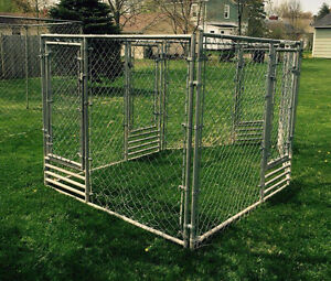 5 Door-kits for outdoor dog kennel. $100 each or $400 for the 5