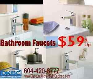 Bathroom Faucets - @ DKBC-Discount Kitchen & Bath Cabinets