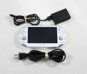 Console Sony Playstation PS Vita 1001 blanc / White PS Vita 1001