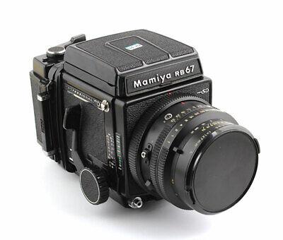 Mamiya RB67 PRO SD 127mm F3.5 KL 120 SD FILM BACK