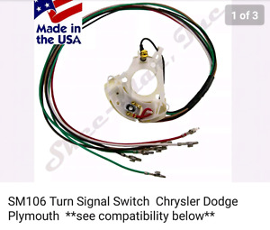 Wanted turn signal switch