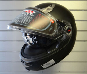 $339 NEW LS2 Modular Snowmobile Helmet with Electric Visor