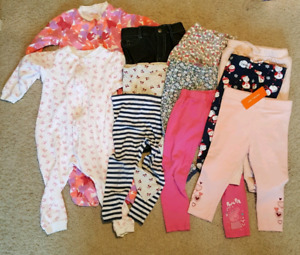 Large lot of clothes for your little girl