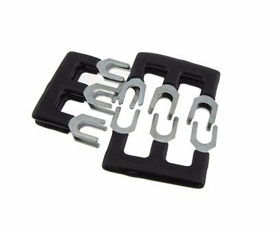 3 Pos Shorting Bar Stripe For 15a Screw Barrier Terminal Block - Blk - Pack Of 5